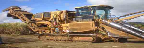 sugarcane harvesting equipment