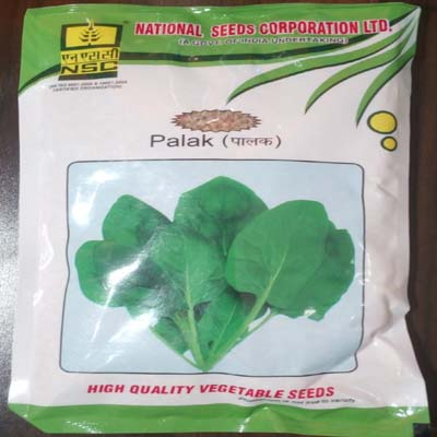 all green palak seed